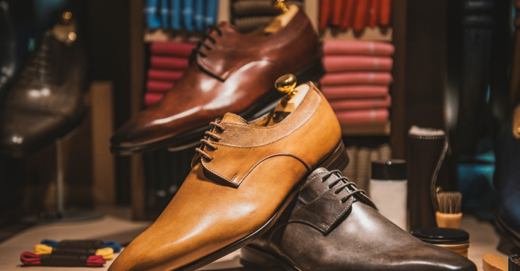 calzado masculino blucher